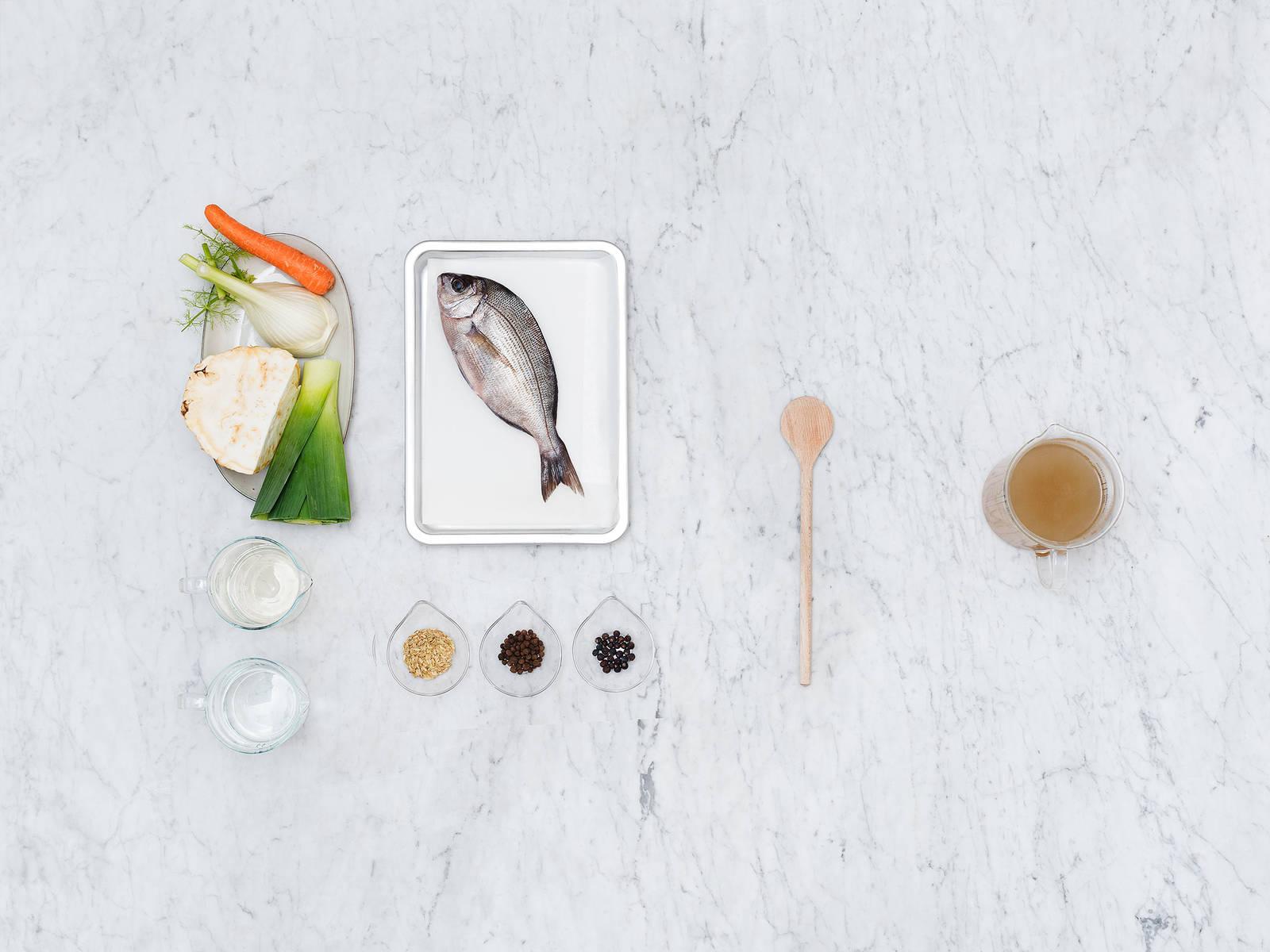 自制鱼肉高汤