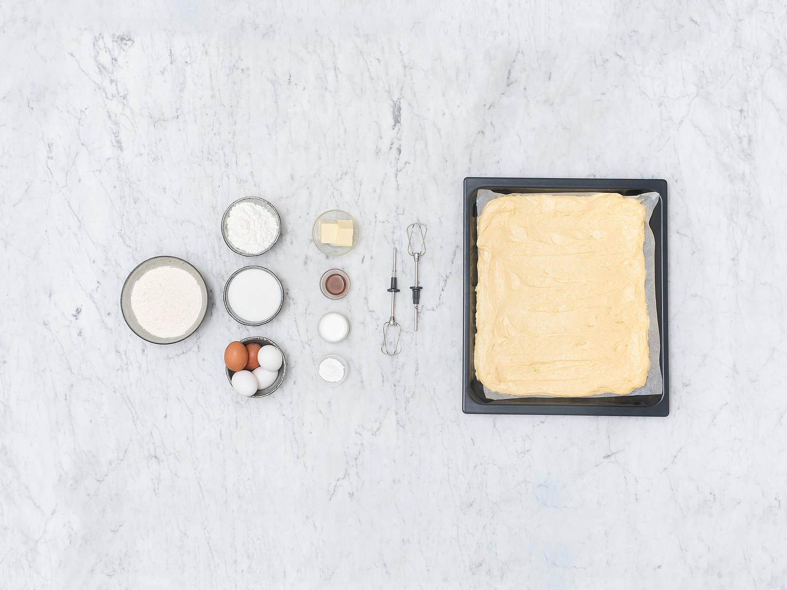 Simple fruit cake base