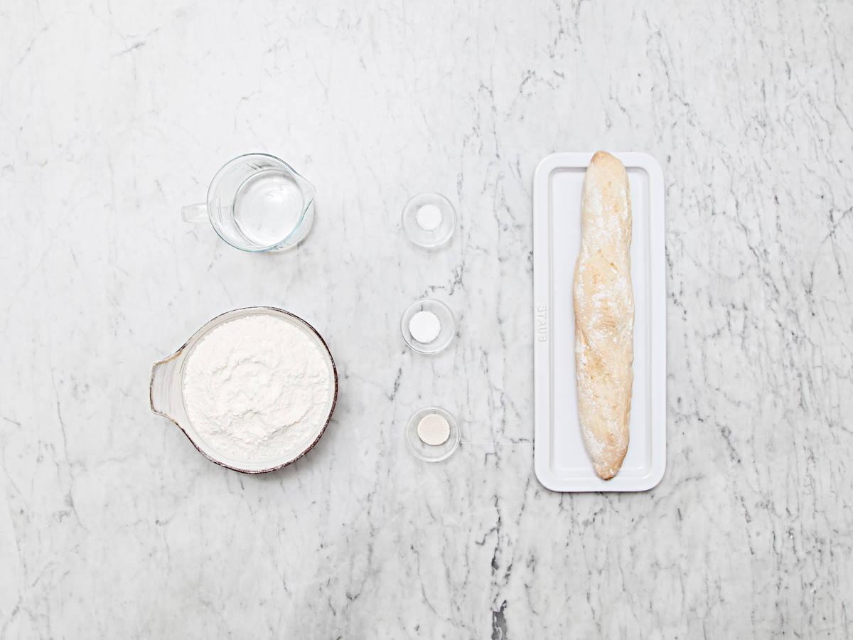 自制法棍面包