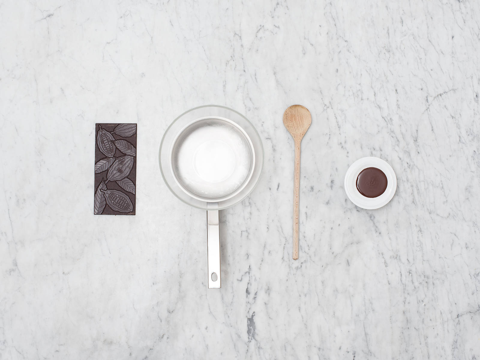 如何融化巧克力