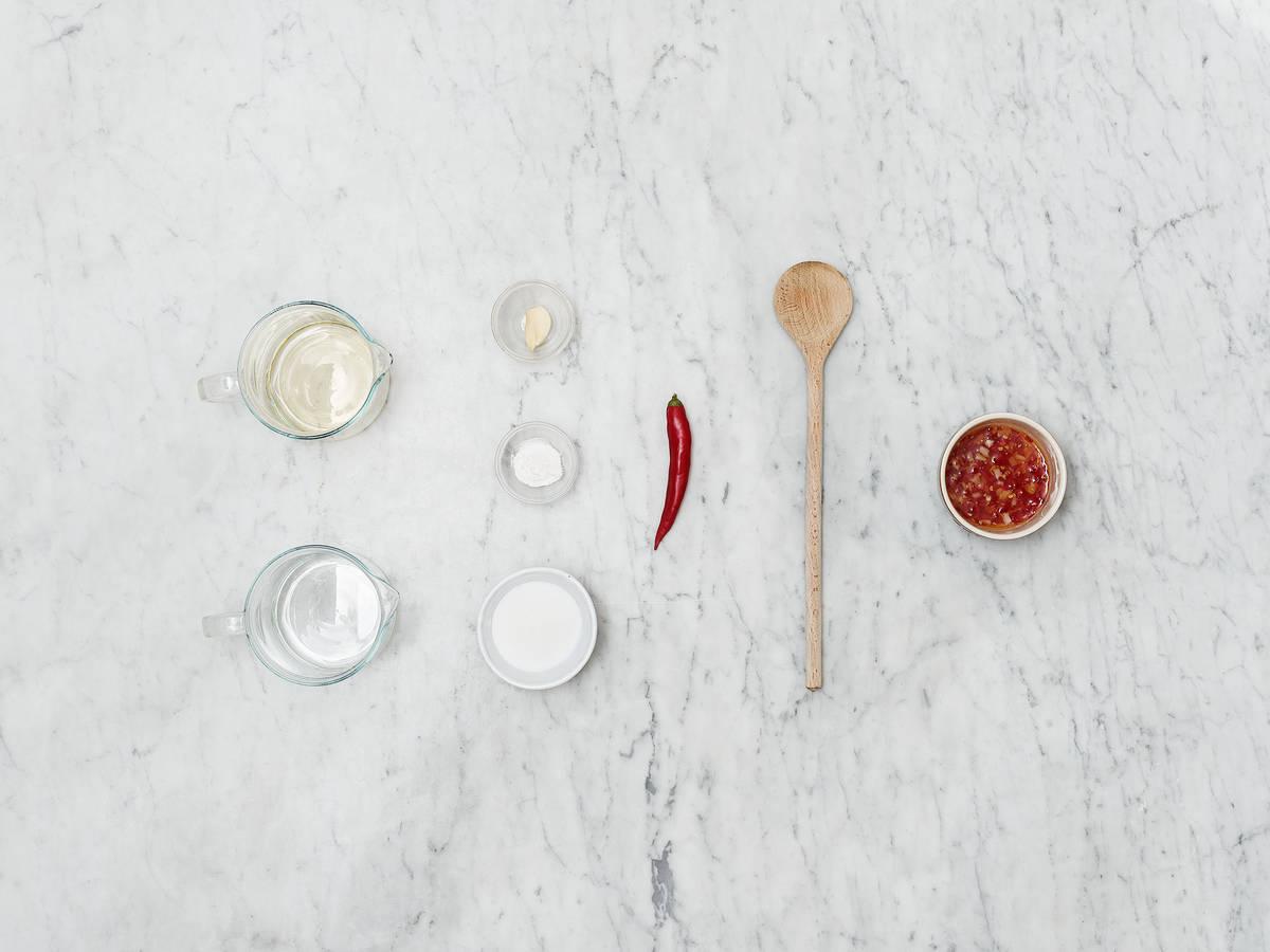 Hausgemachte Sweet-Chili-Soße