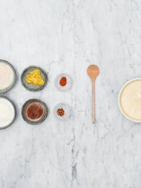 Hausgemachter Honig-Senf-Dip