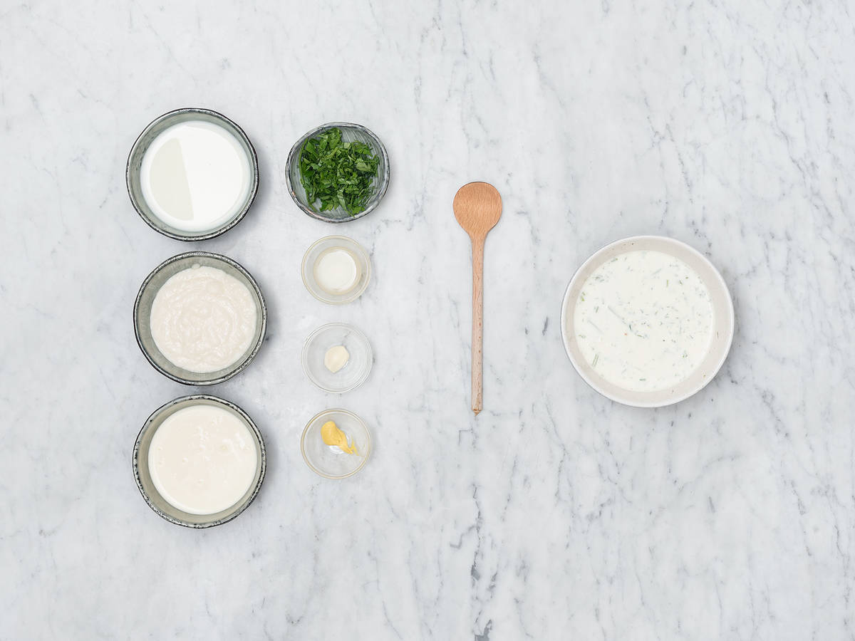 Hausgemachtes Buttermilk-Ranch-Dressing