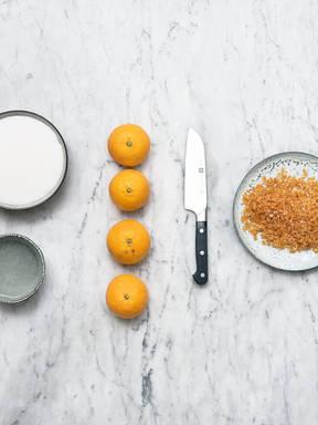 Hausgemachtes Orangeat