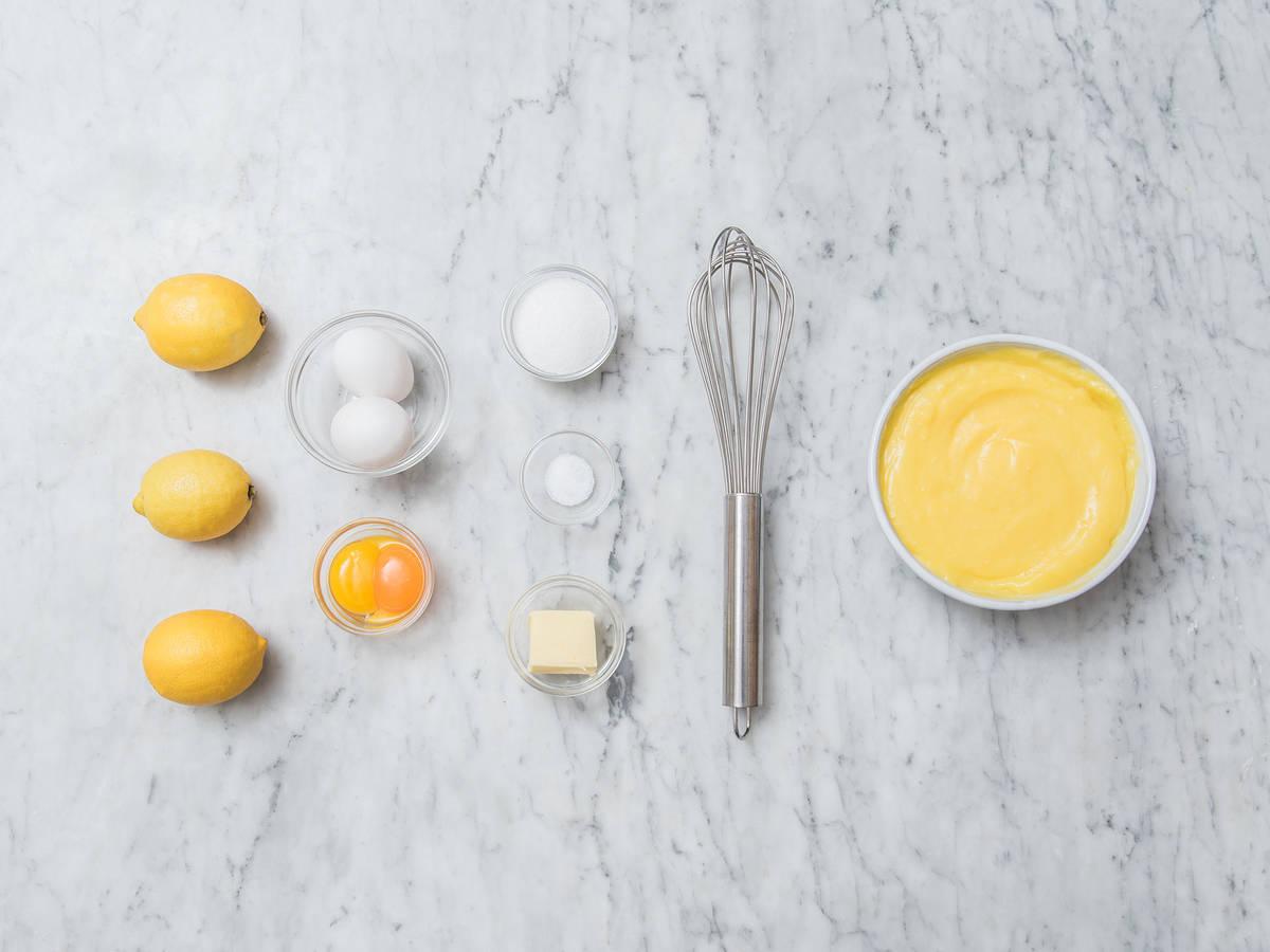 Hausgemachte Lemon Curd