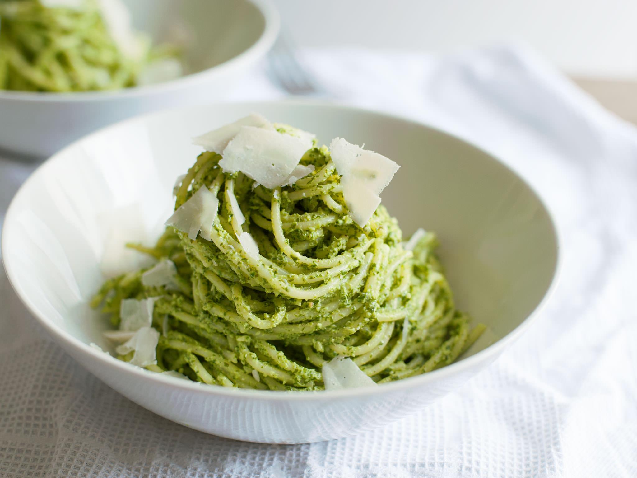 Pasta verde | Recipe | Kitchen Stories