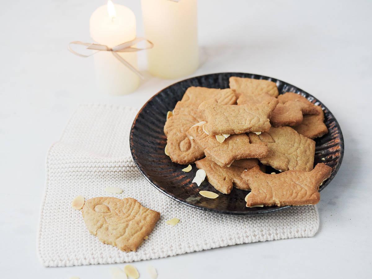 DIY classic speculaas cookies