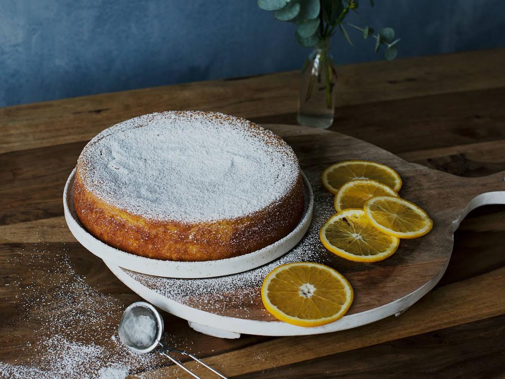 橘子杏仁蛋糕