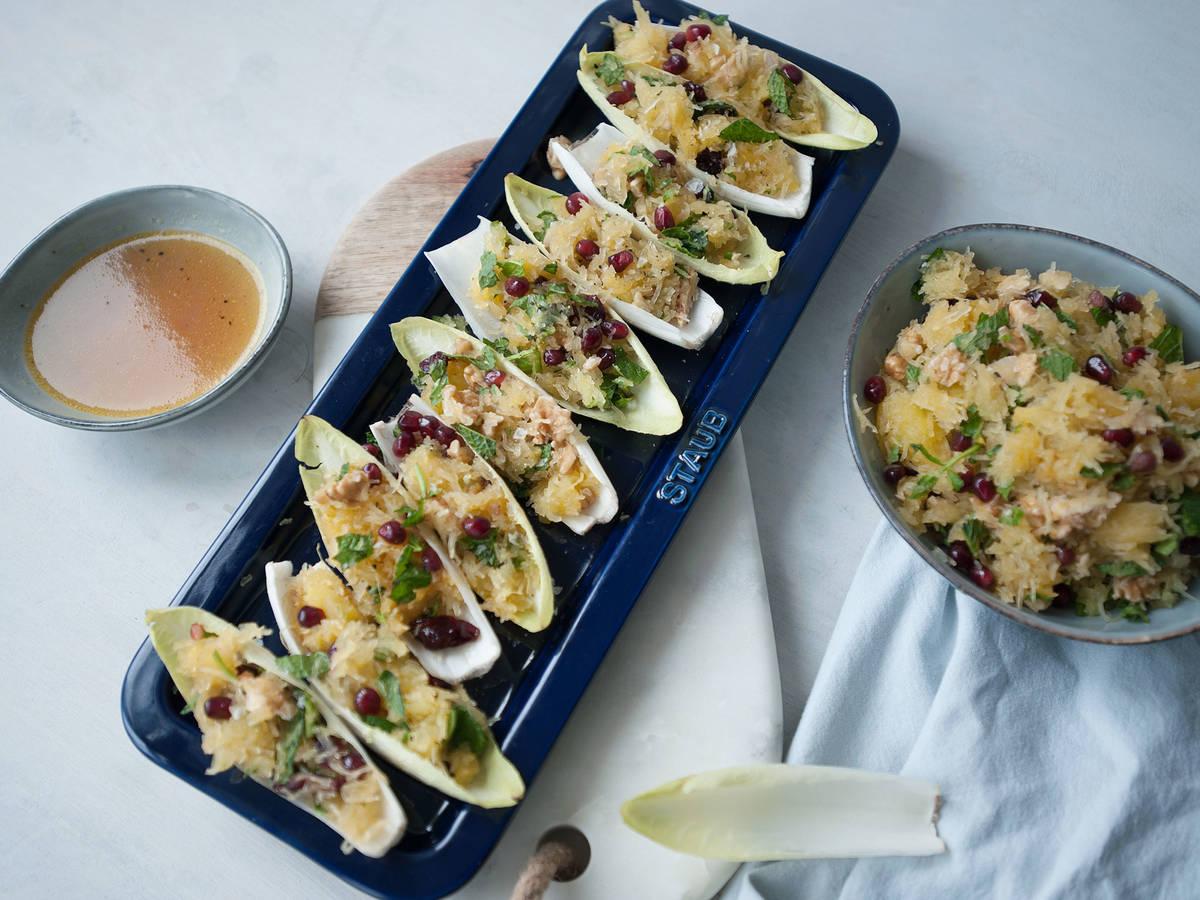 金丝瓜酿菊苣