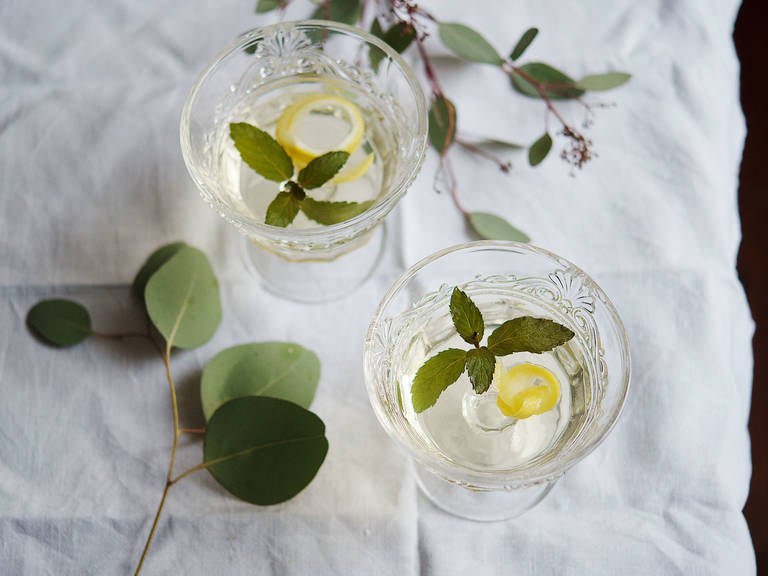 桂花香槟果冻鸡尾酒