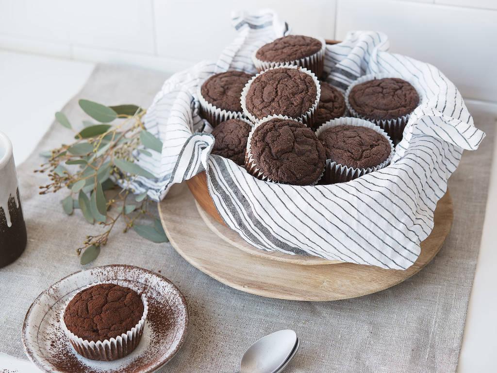 Paleo巧克力玛芬