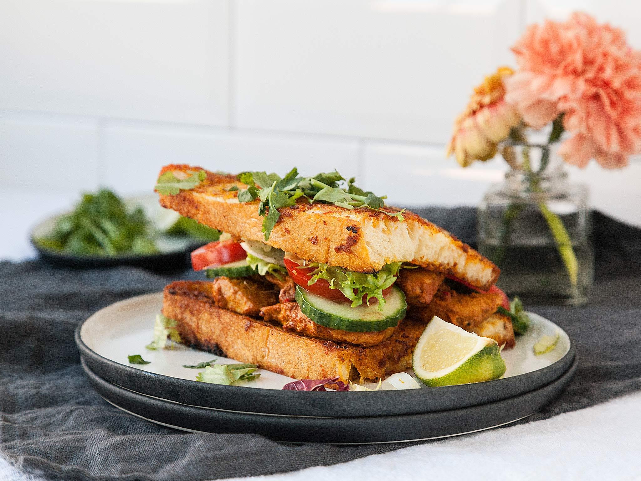 Chicken Tikka Sandwich Recipe With Video Kitchen Stories