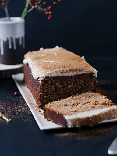 Gingerbread loaf cake
