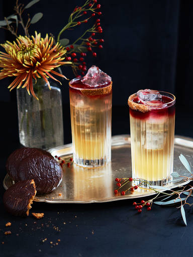 Gingerbread fizz