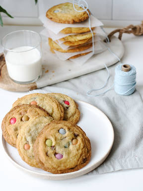 DIY Subway-Cookies mit Smarties