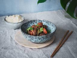 Chinese cumin and lamb stir-fry
