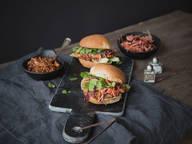 BBQ-Jackfrucht-Burger