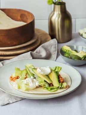 Mexikanische Hähnchen-Tacos