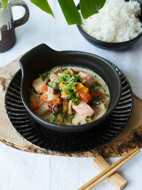 Japanese white curry