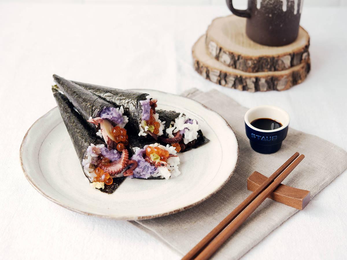 Handgerolltes Sushi