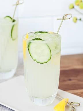 Vodka with bitter lemon