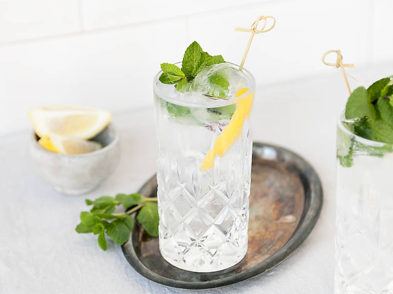 Elderflower Gin Tonic