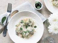 Ricotta and spinach gnudi