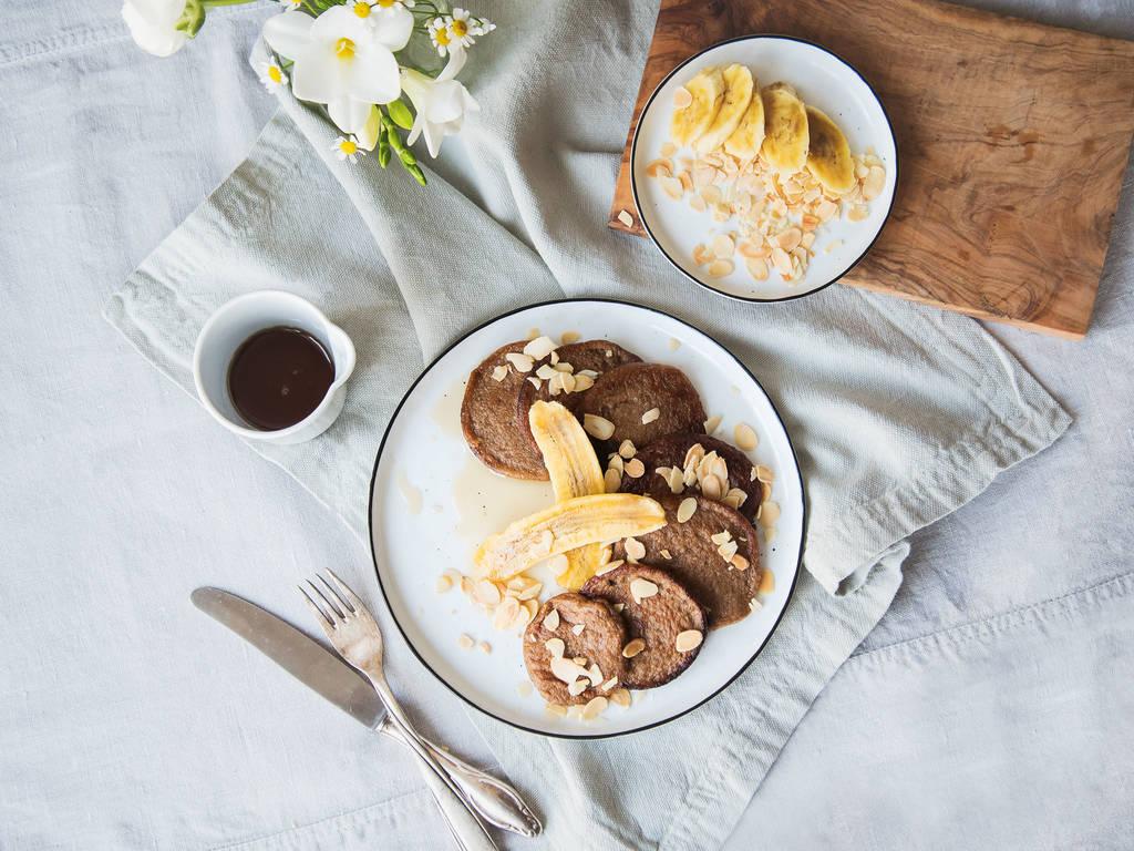 Paleo-Pancakes mit 3 Zutaten