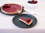 No-bake cherry tart