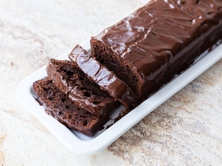 Easy chocolate loaf cake