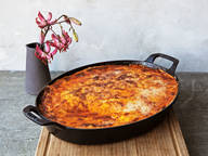 Classic eggplant moussaka