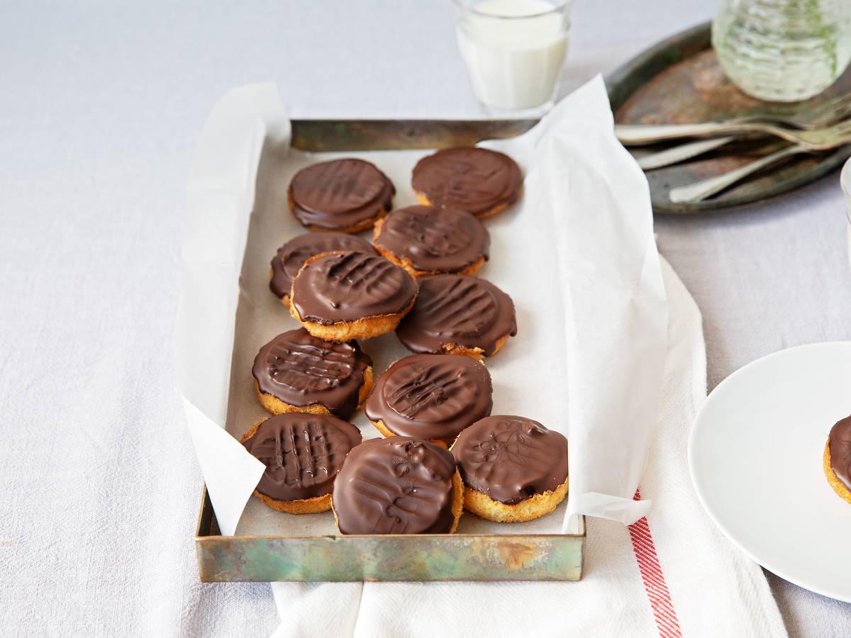 自制香橙巧克力小蛋糕