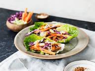 韩国牛肉生菜卷