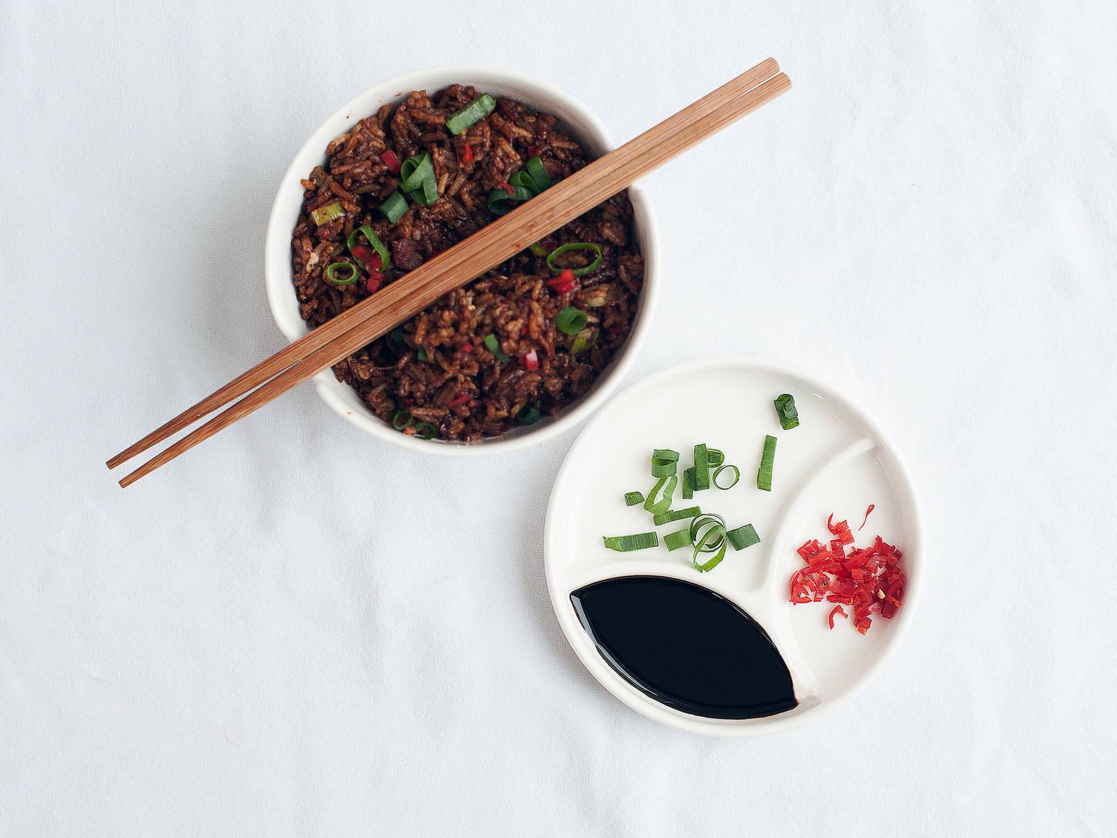 Asian breakfast bowl