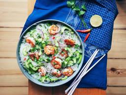 中式米粉沙拉
