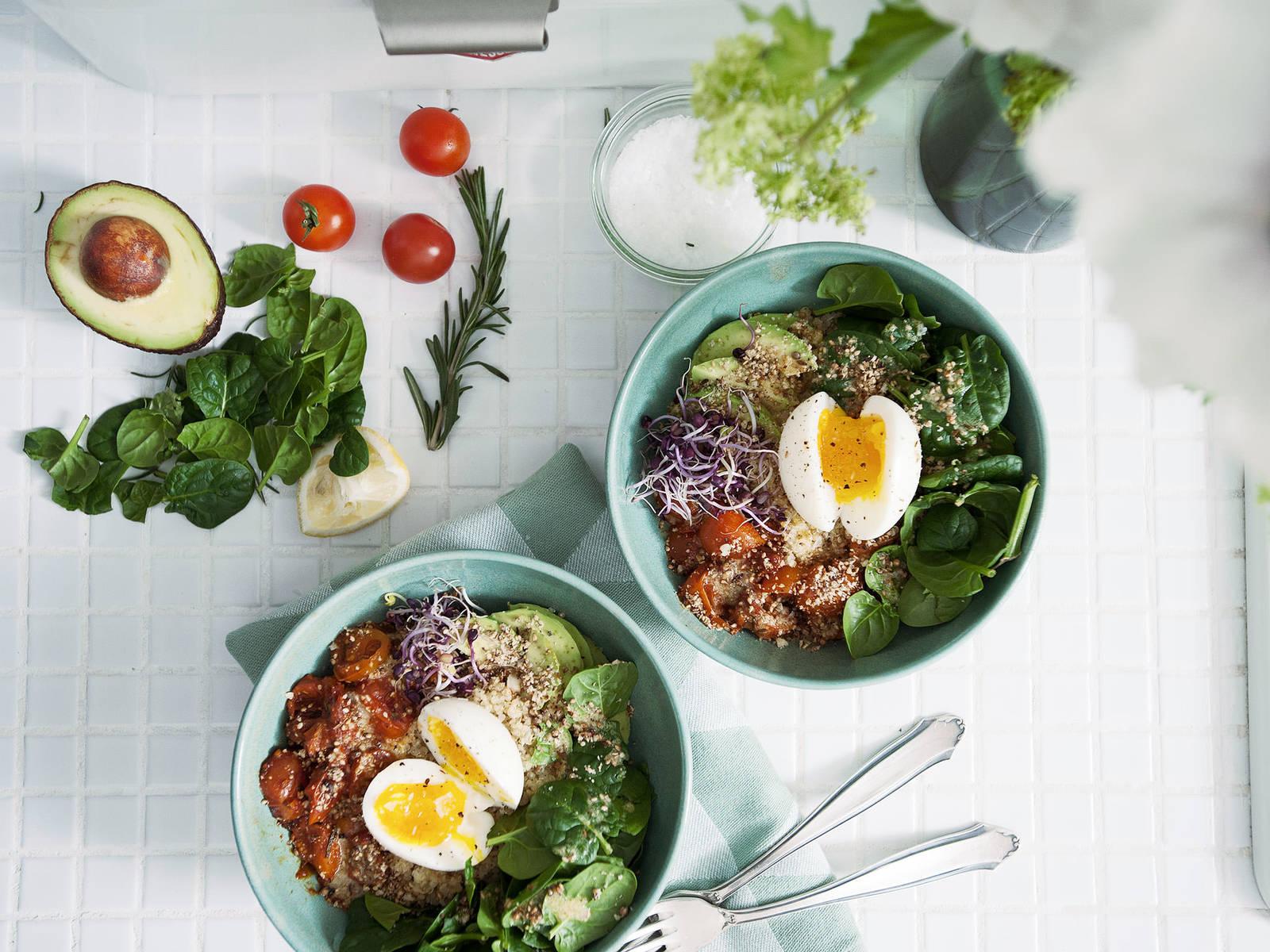 Frühstücks-Bowl mit Quinoa