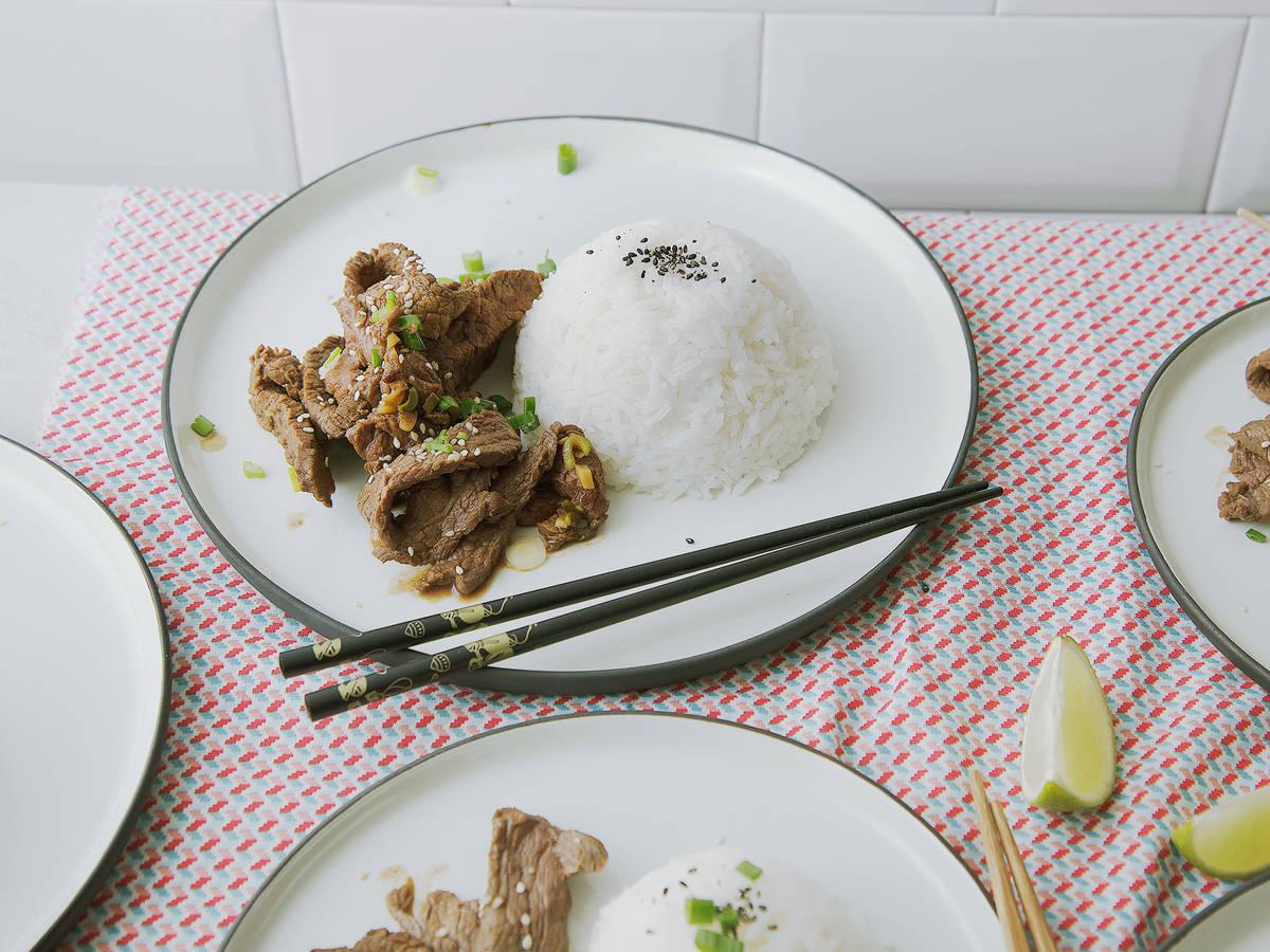 Koreanisches Feuerfleisch