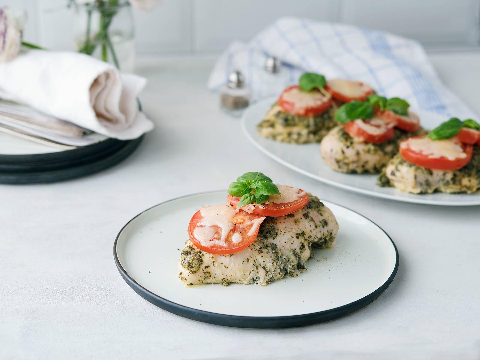Pesto Hähnchen