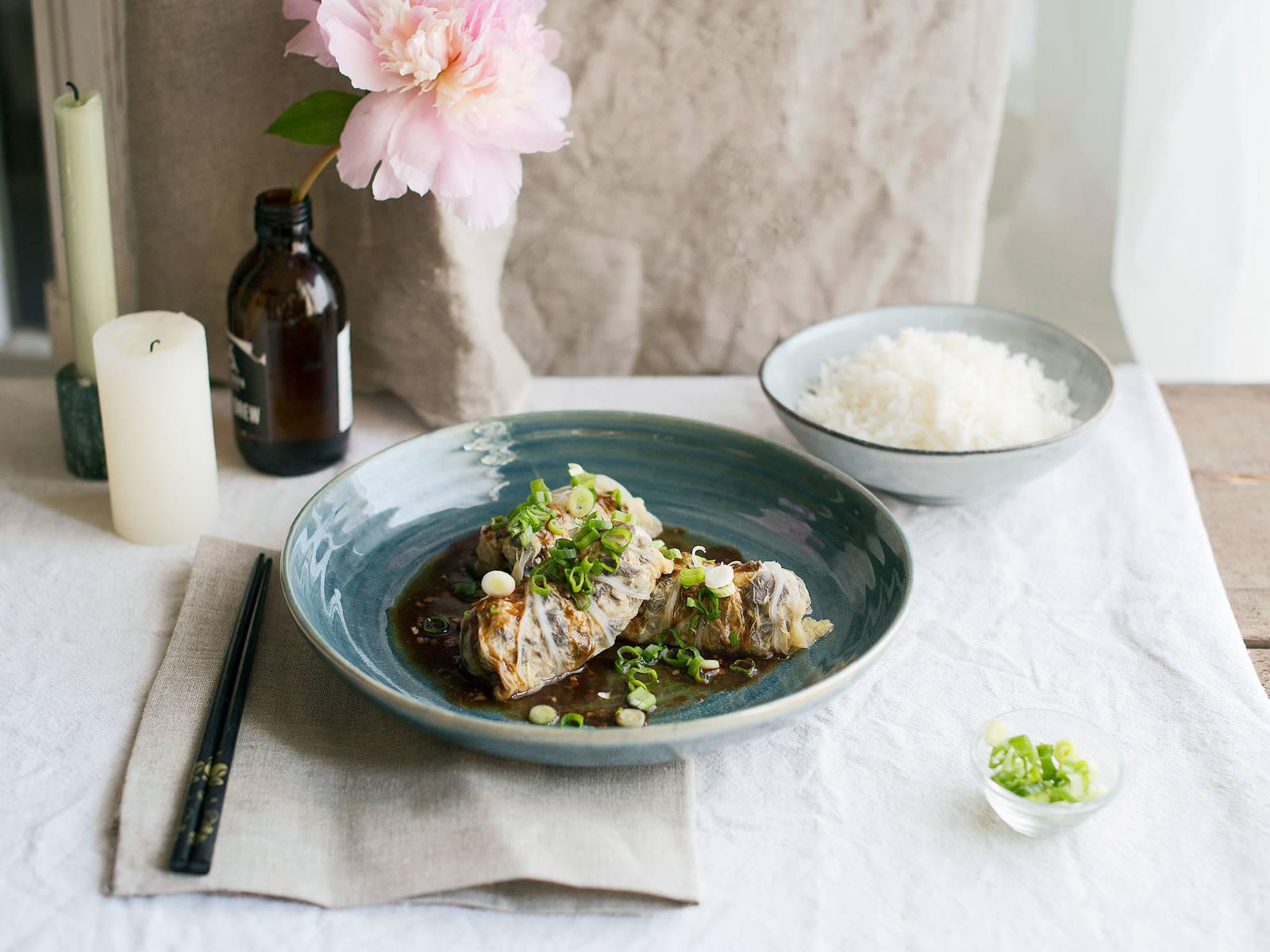 中式白菜卷