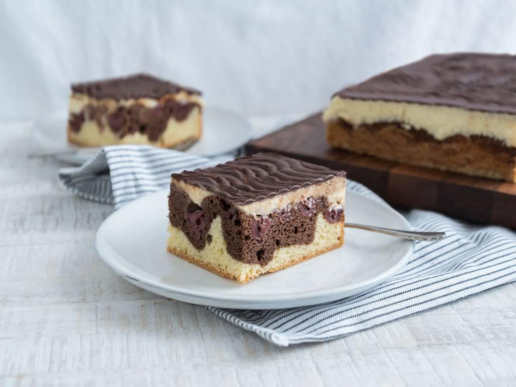 German Donauwelle cake