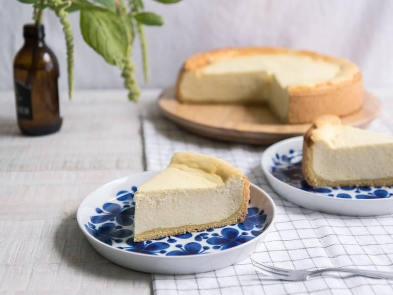 Classic German cheesecake