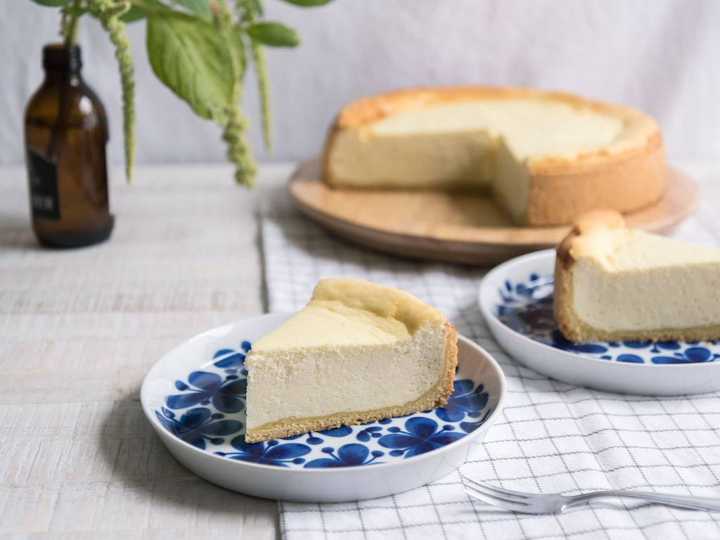 Classic German cheesecake