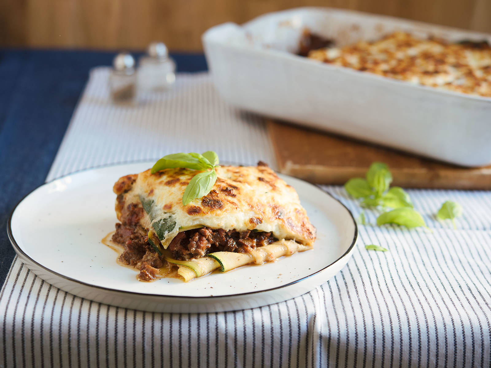 Low-carb lasagna