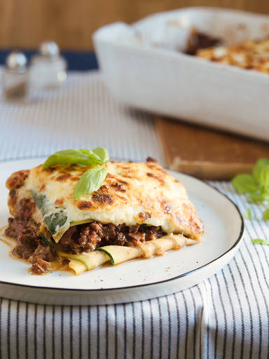 Low-carb lasagna