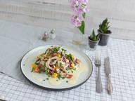 Hähnchensalat mit Mangodressing