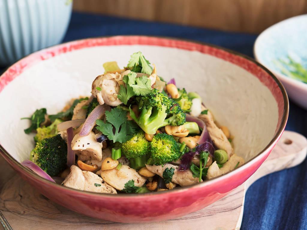 Hähnchen-Brokkoli-Stir-Fry