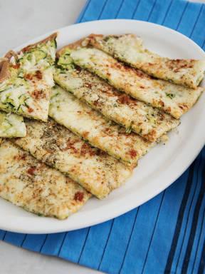 Käse-Zucchini-Streifen