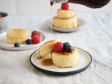 日式酪乳厚烧蛋糕
