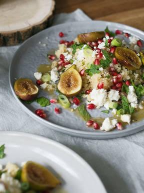 Orientalischer Couscous-Salat mit Feigen