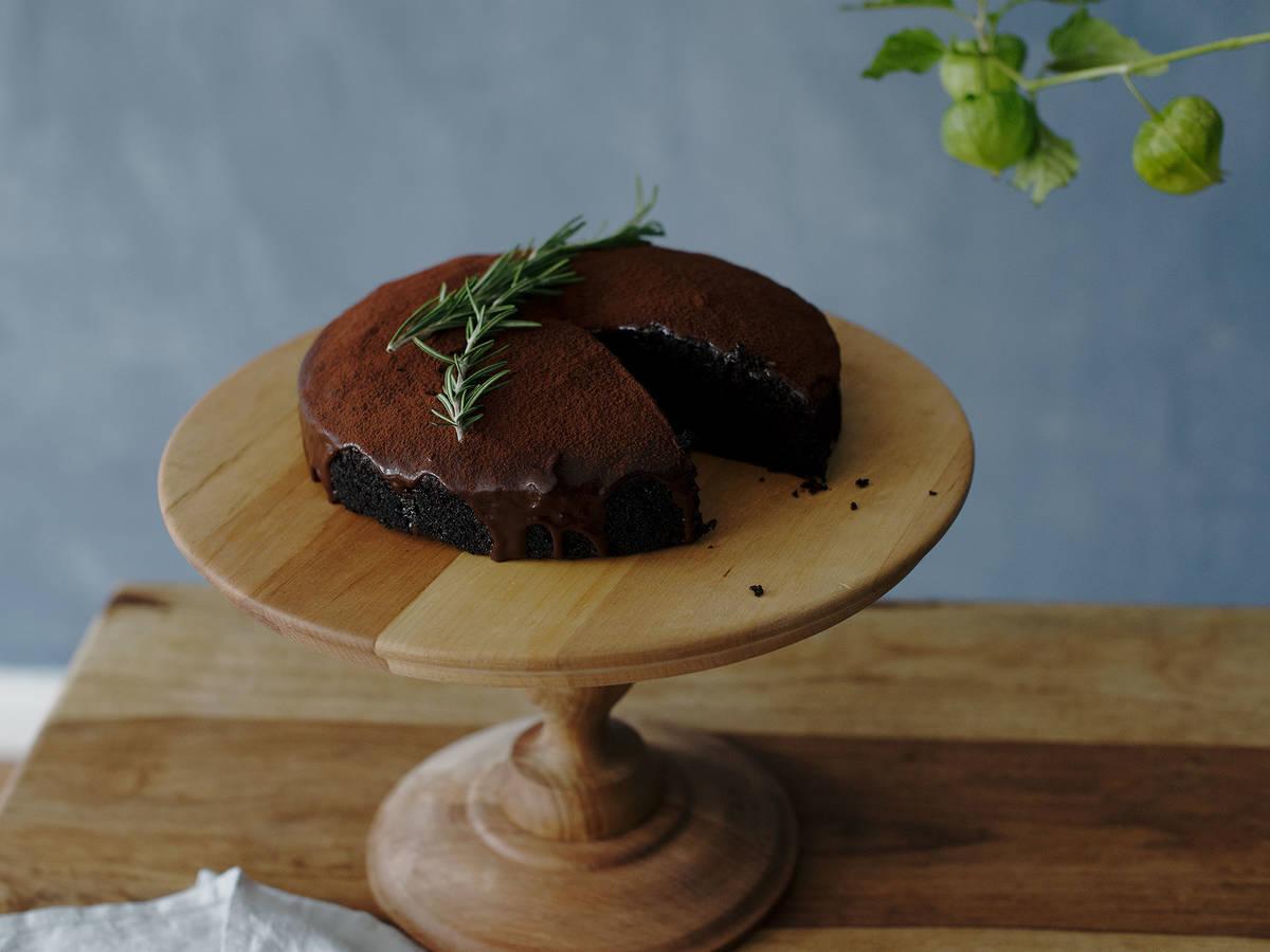 双巧甜菜根蛋糕